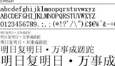 imsun中文字体发虚,各位到底是怎么样解决的哦