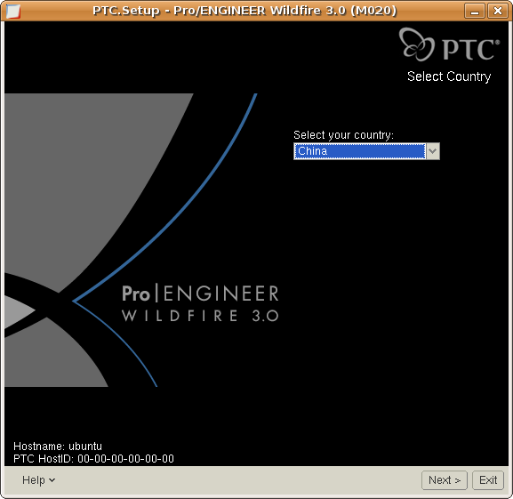 Screenshot-PTC.Setup - Pro-ENGINEER Wildfire 3.0 (M020).png
