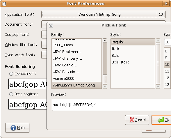 Screenshot-Font Preferences.png