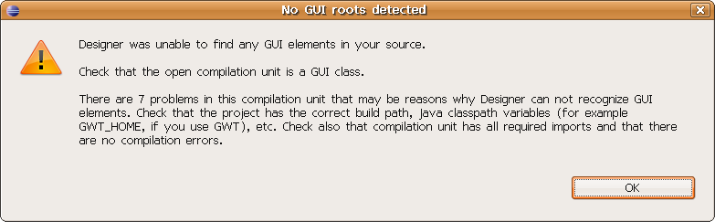 Screenshot-No GUI roots detected .png