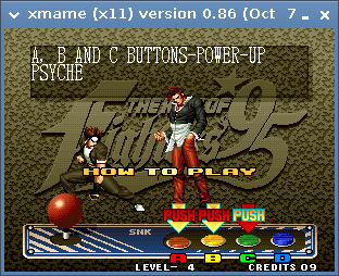 Screenshot-xmame (x11) version 0.86 (Oct  7 2004).png